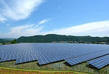 大規模太陽光発電所多数