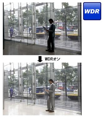 WDR(ワイドダイナミックレンジ)画像