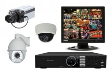 防犯カメラ機材の種類画像