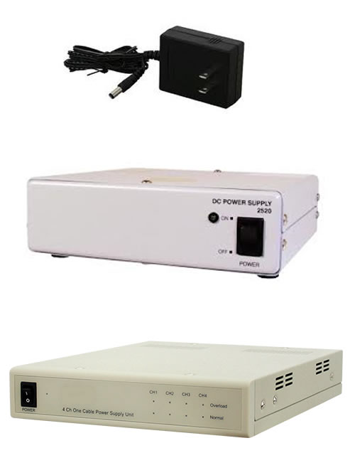 防犯カメラ用電源の種類画像