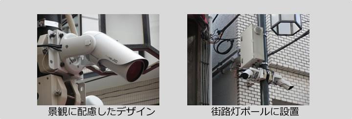 監視カメラシステムの概要