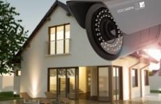 自宅用防犯カメラのモニター