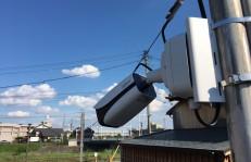 戸建て防犯カメラ設置例