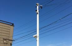 駐車場防犯カメラ設置例
