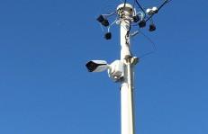 街頭カメラ設置例