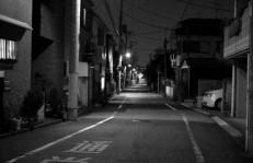 白黒住宅街