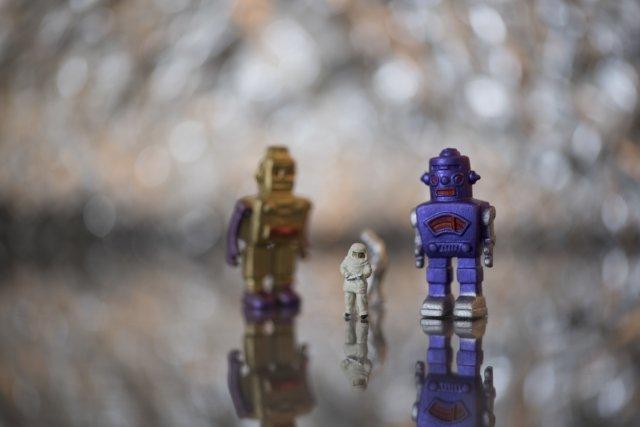 ブリキロボット