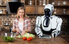 ロボットと料理